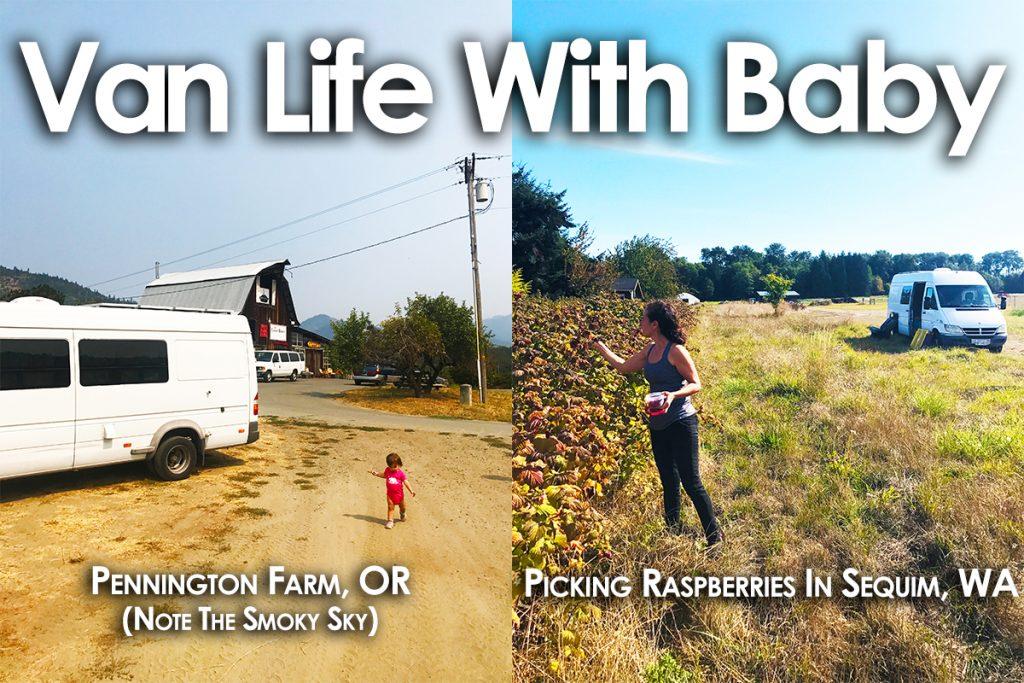 van life with baby