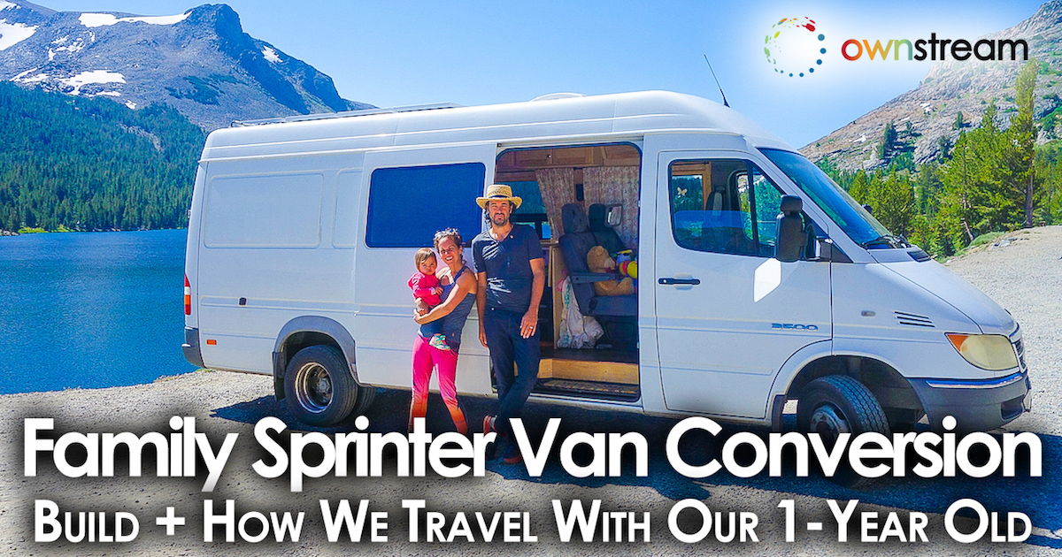 Family Sprinter Van Conversion